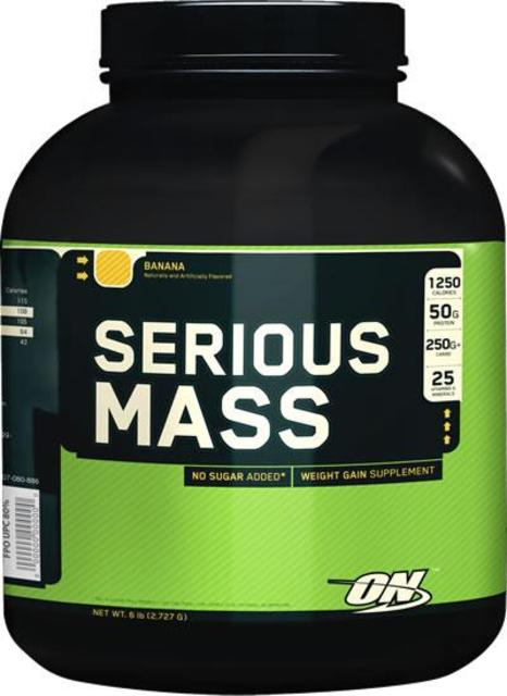 Serious Mass (Optimum Nutrition) Weight Gainer Food